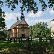 Przeniesiony Kocio z Drdewa na terenie Muzeum Wsi Mazowieckiej w Sierpcu